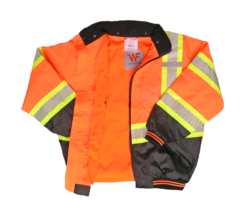 a-8514b-ansi-compliant-class-3-high-viz-designer-orange-black-bottom-bomber-jacket