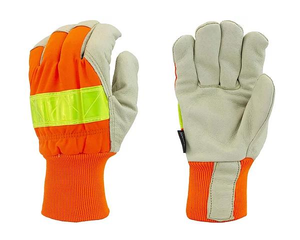 J-52080-high-viz-orange-lined-pigskin-knit-wrist-reflective-knuckle